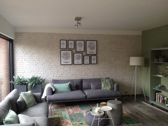 Gerealiseerde woonkamer